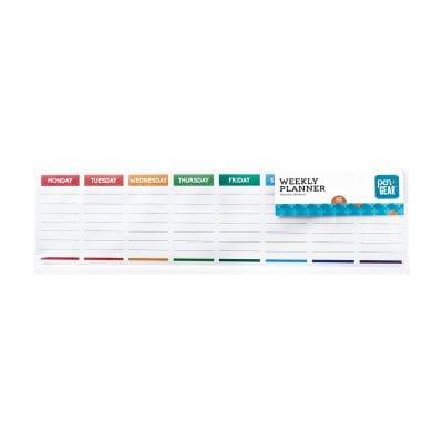 Weekly planner template -- inexpensive walmart classroom buys