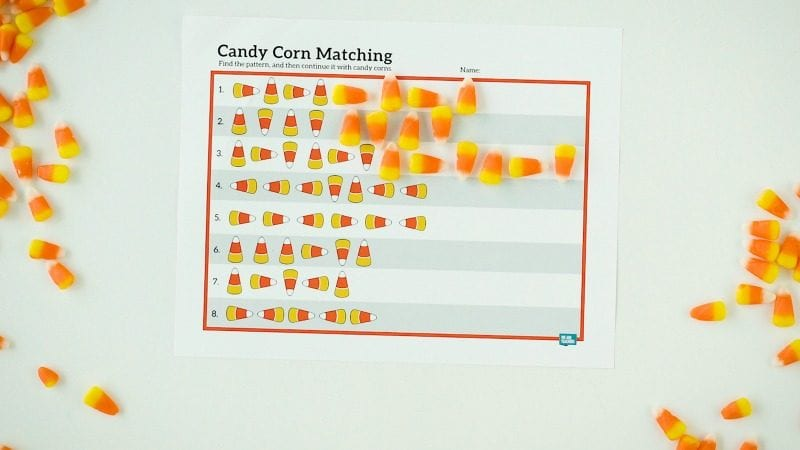 Candy Corn Math Patterns -WeAreTeachers