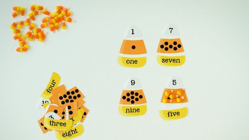 Candy Corn Math Counting -WeAreTeachers
