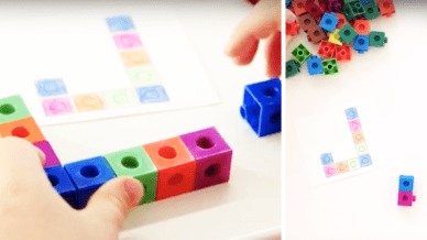 Free Snap Block Alphabet for Early Childhood Classrooms