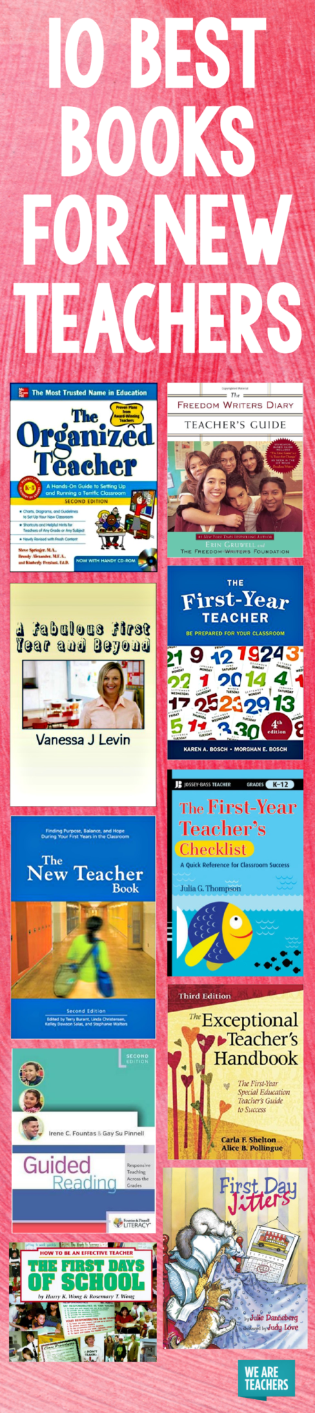 10 Best Books for New Teachers - WeAreTeachers