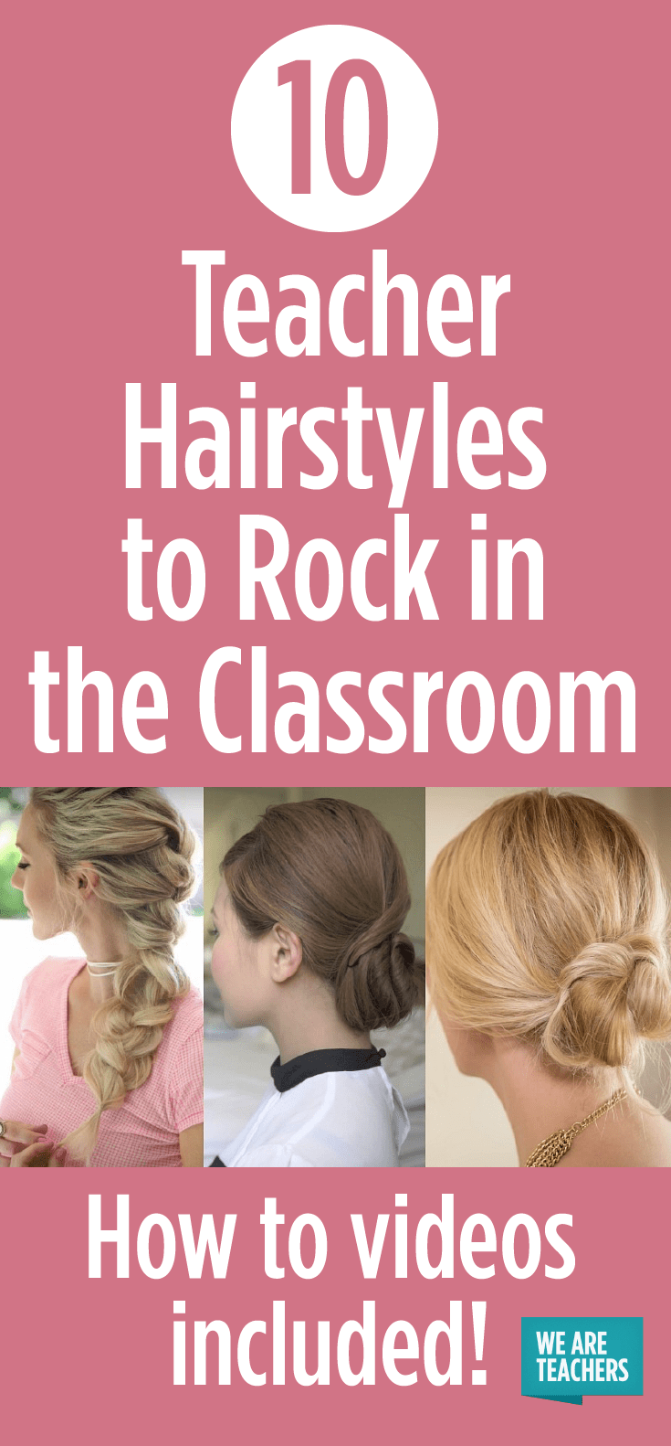 10 Teacher Hairstyles To Rock In The Classroom Weareteachers