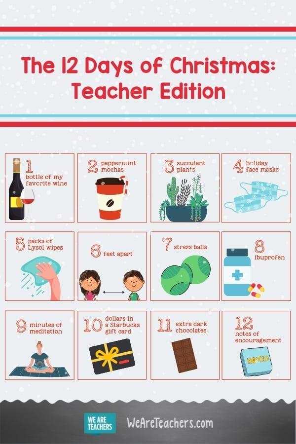 The 12 Days of Christmas: Teacher Edition