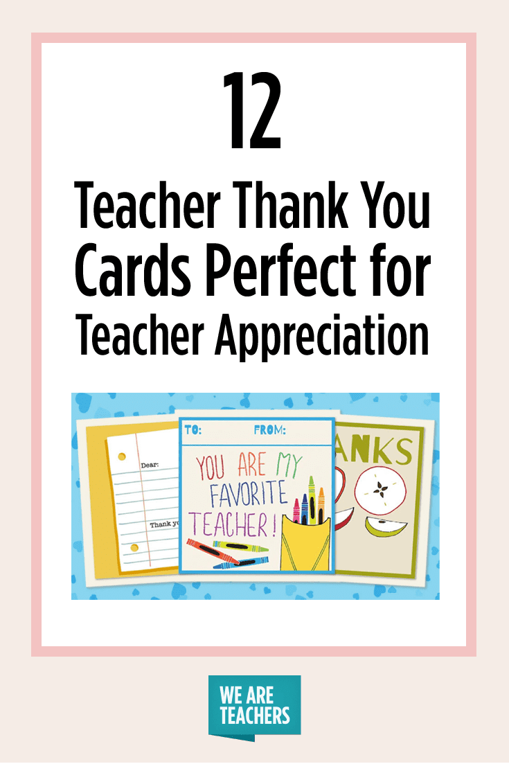 image about Free Printable Teacher Appreciation Cards to Color called Printable Instructor Thank Oneself Playing cards for Trainer Appreciation