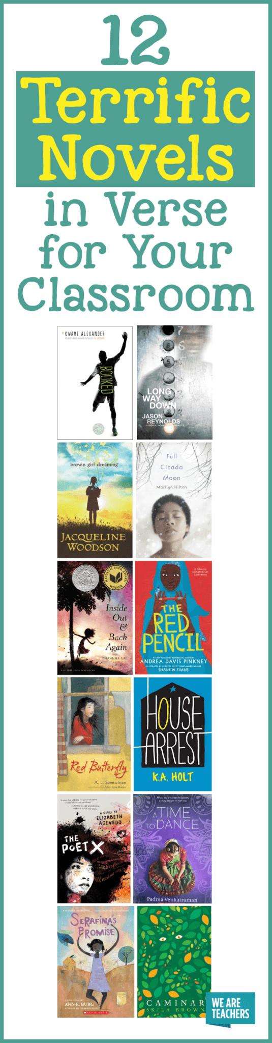 12 terrific novels