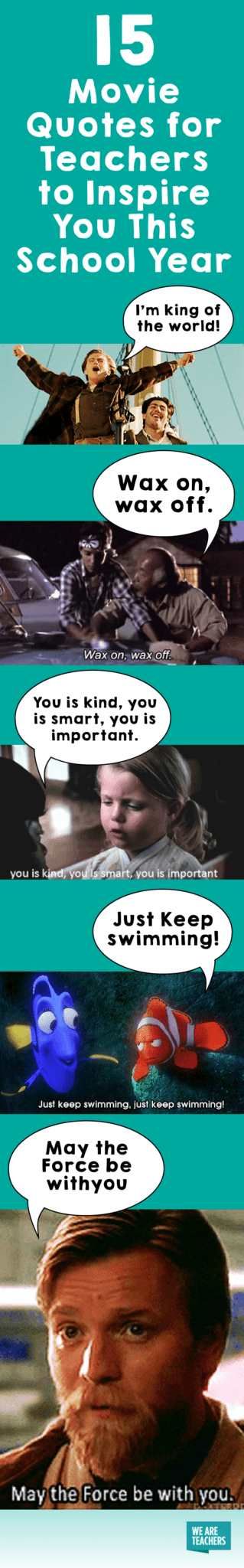 15 Movie Quotes For Teachers To Inspire You This School Year