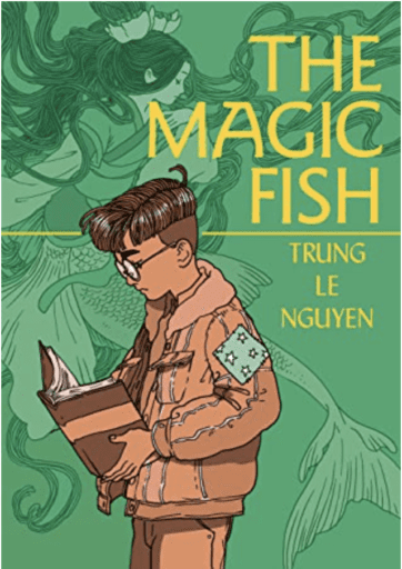 Book cover of The Magic Fish