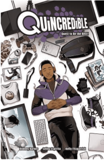 Book cover of Quincredible Vol.1