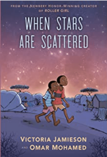 Book cover of When Stars Are Scattered