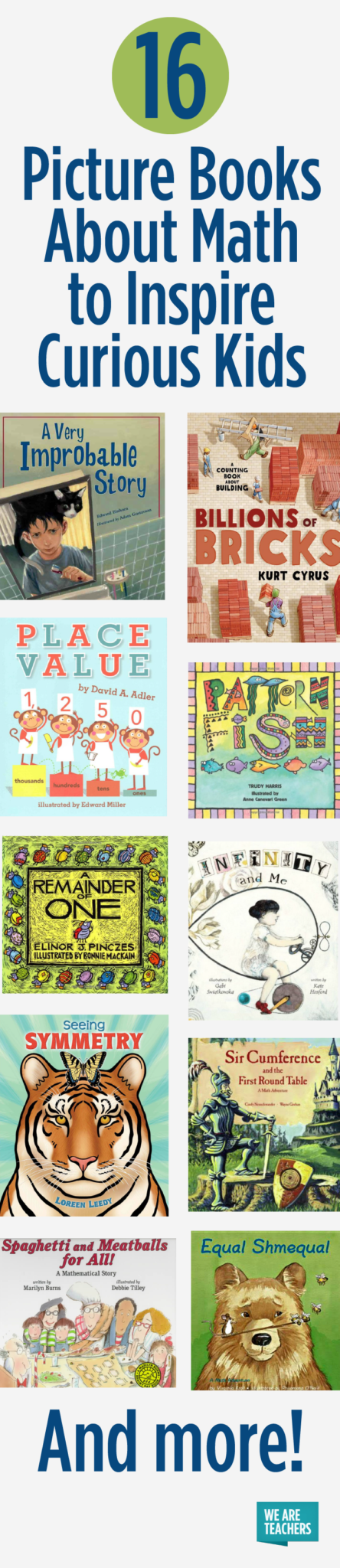 16 Picture Books About Math to Inspire Curious Kids - WeAreTeachers
