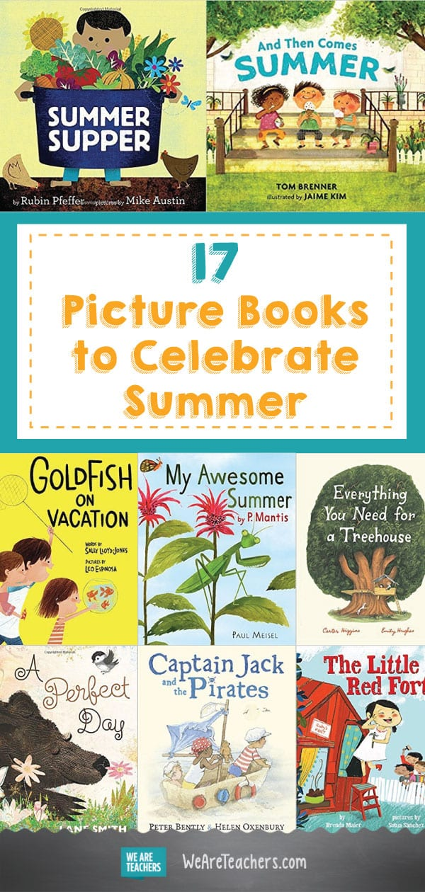 17 Picture Books to Celebrate Summer