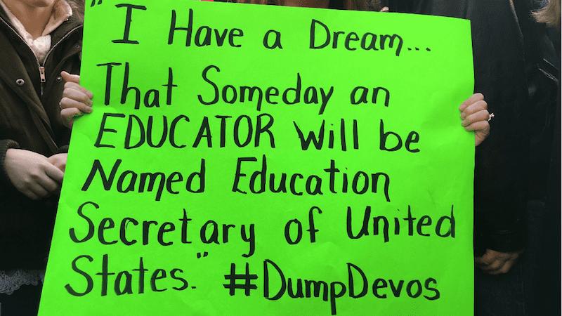 18 Brutally Honest Teacher Tweets About Betsy DeVos