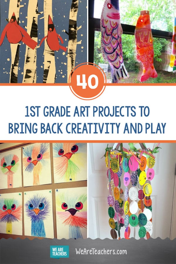 40 Amazing 1st Grade Art Projects to Bring Back Creativity and Play