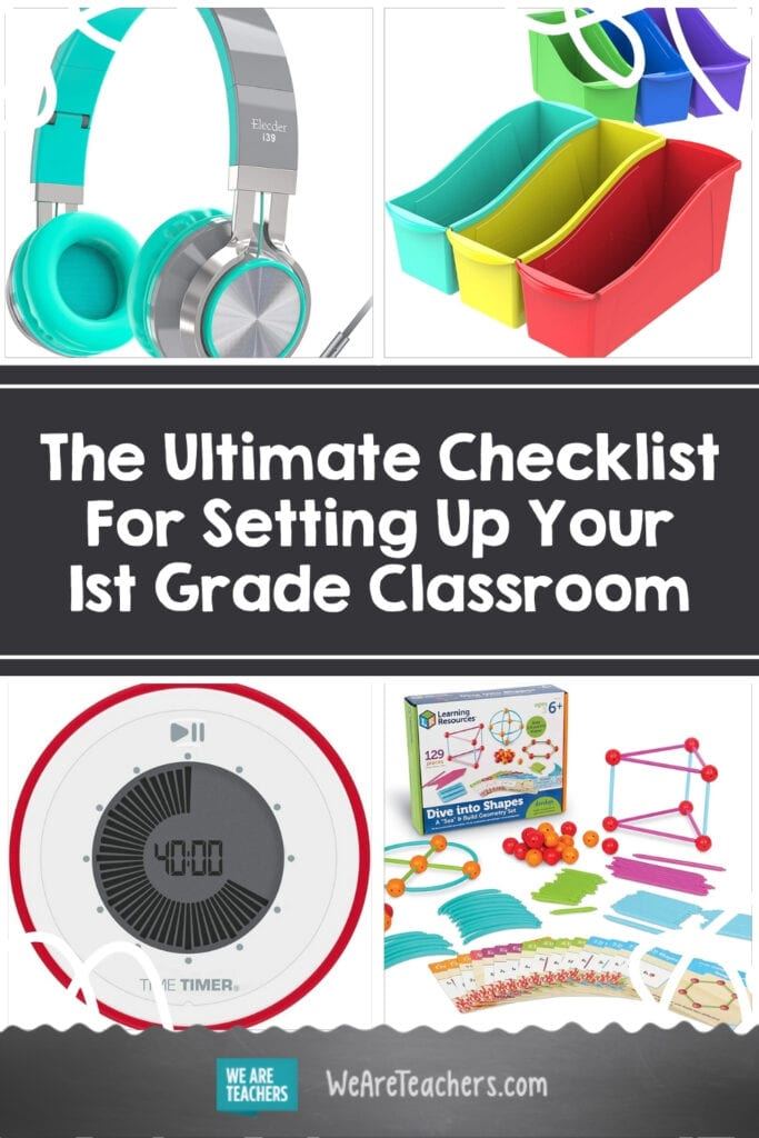 The Ultimate Checklist For Setting Up Your 1st Grade Classroom