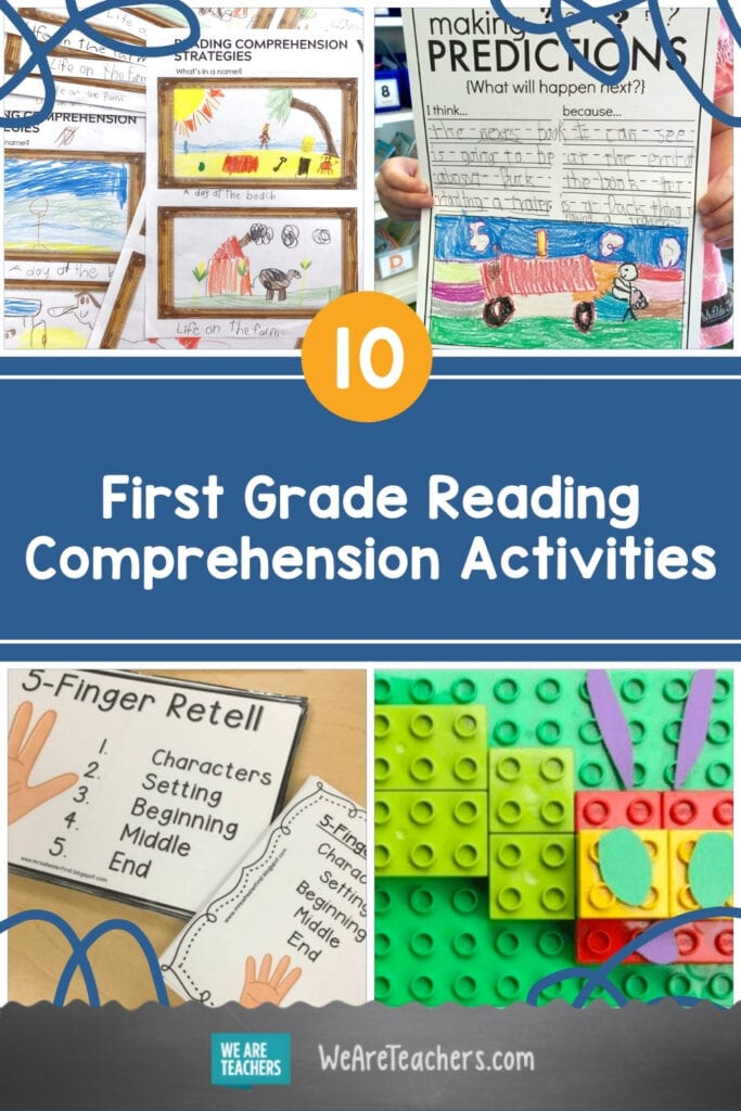 10 Engaging First Grade Reading Comprehension Activities
