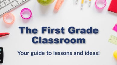 1st Grade Classroom Guide for lessons and ideas.