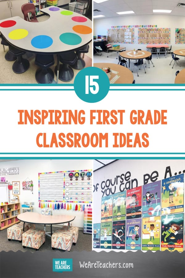 15 Fun & Inspiring First Grade Classroom Ideas
