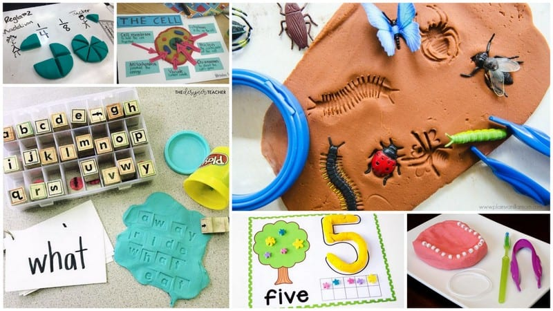 20 Genius Play-Doh Learning Activities