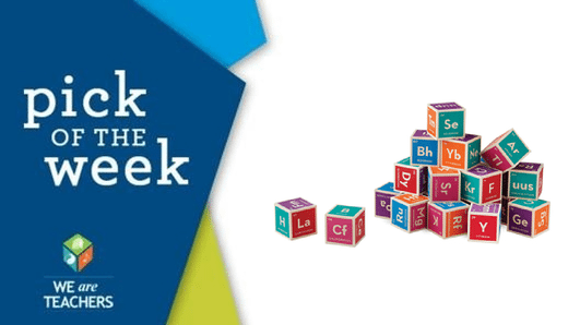 Pick of the week periodic table building blocks weareteachers there is nothing boron about these literal building blocks of chemistry periodic table building blocks urtaz Gallery