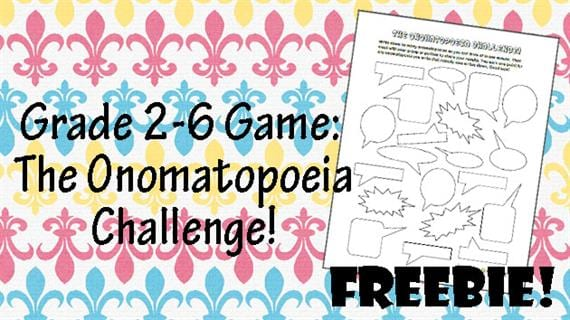Free Printable Of The Week Onomatopoeia Game For Grades K2. Whiz Bang Pop Pow. Worksheet. Onomatopoeia Worksheet Year 6 At Mspartners.co