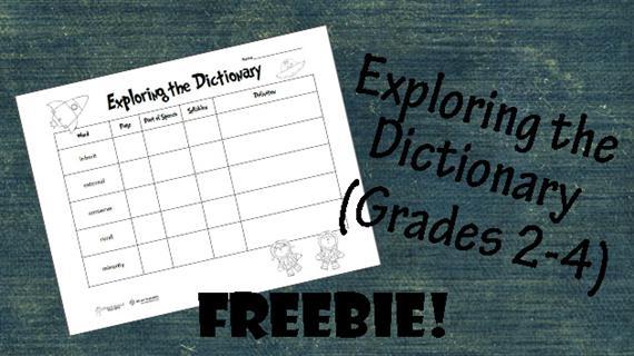 Exploring dictionary