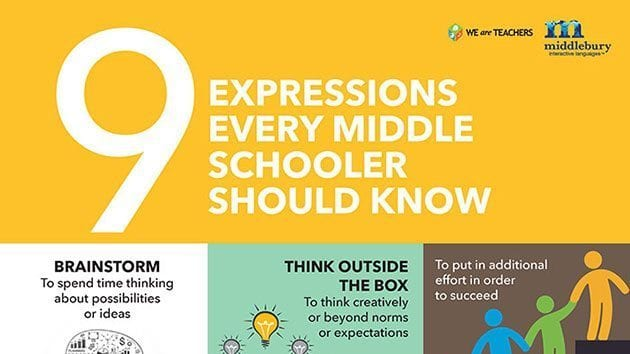 expressions-middle-schoolers-should-know-poster
