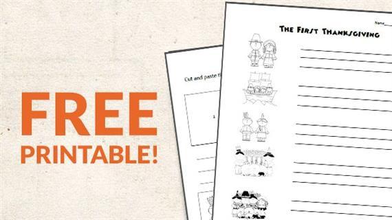 Free Printable Thanksgiving Sequencing Worksheets Weareteachers