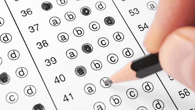 teachers in testing season