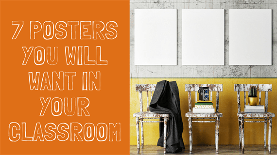 7 posters you will want in your ela classroom