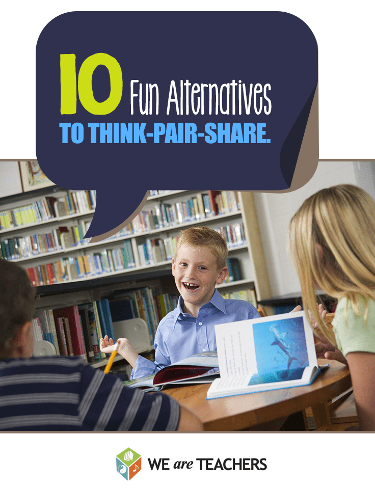 10 Alternatives to Think Pair Share
