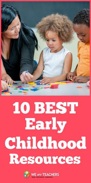 10 Best Early Childhood Resources Pin