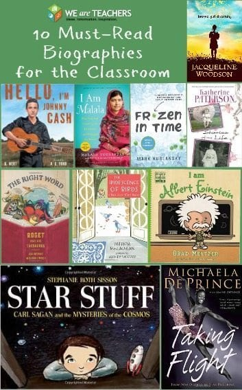 10 Awesome Biographies for the Classroom