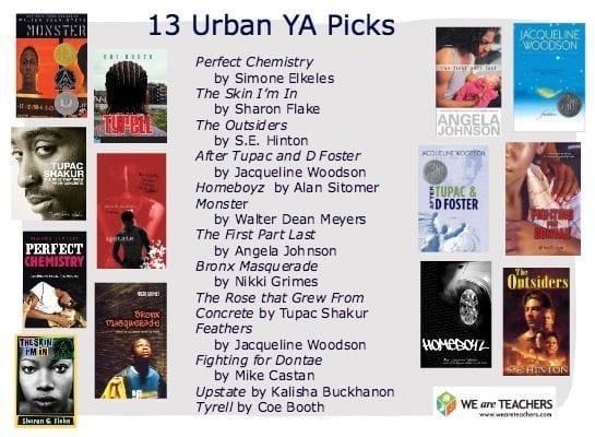 13 Urban YA Picks