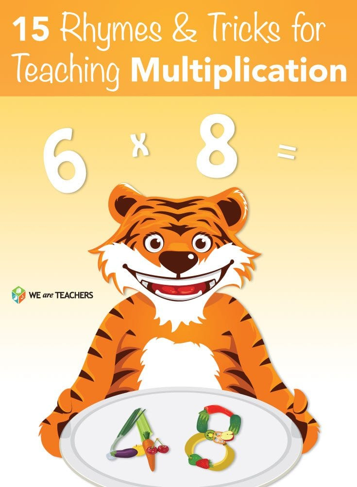 15 Rhymes and Tricks for Multiplication