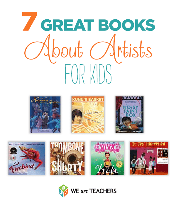 7 Great Books About Artists to Share With Kids
