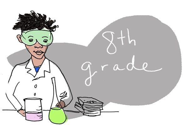 eighth grade genius