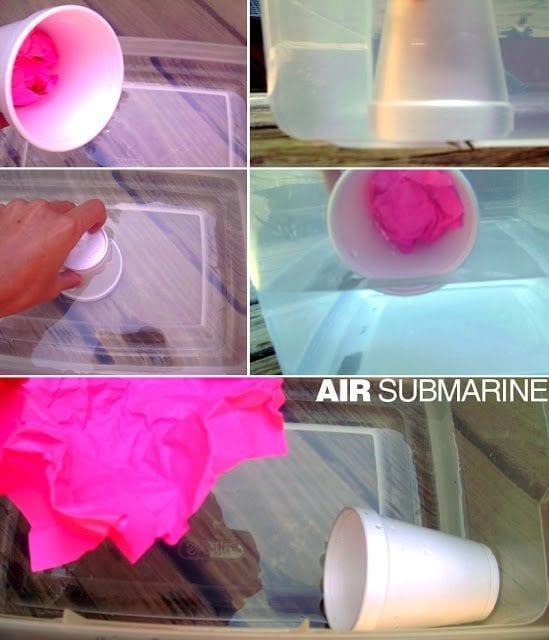 Air submarine