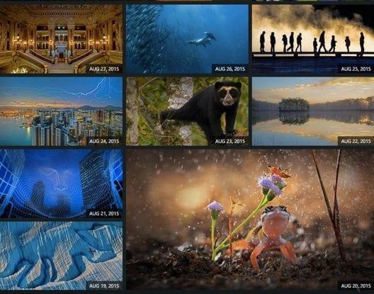 Beautiful images of Bing Classroom Home Screen