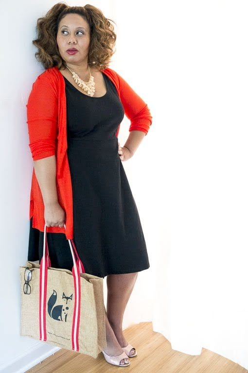 Black Sheath Dress - What to Wear to a Teacher Interview