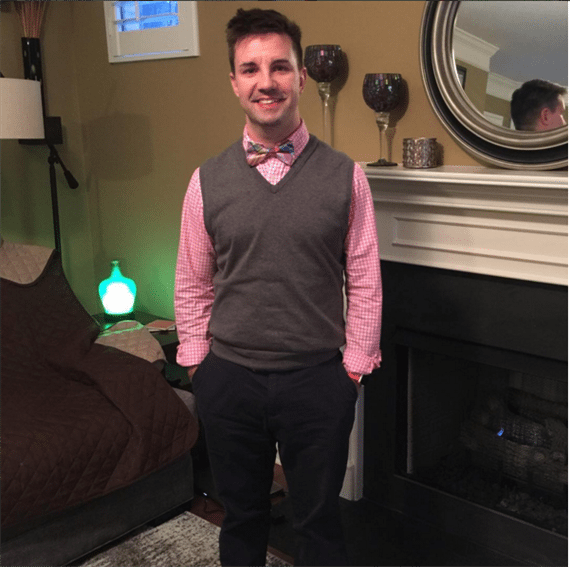 Button Down Shirt and Pants - What to Wear to a Teacher Interview
