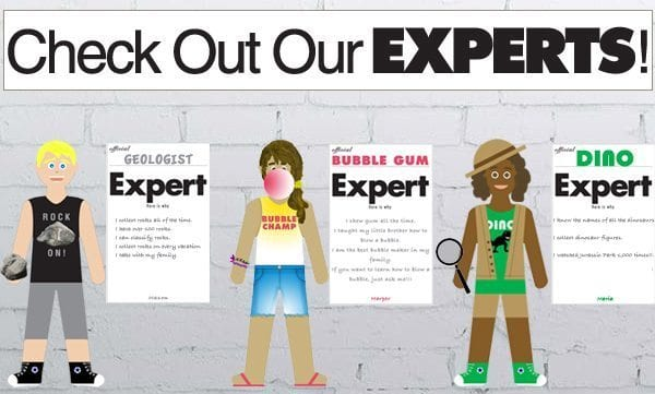 Check Out Our Experts Display