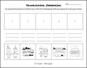 Free Printable: Thanksgiving Sequencing Worksheets - WeAreTeachers