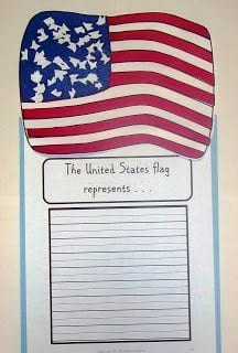 American Flag Art Projects For 2nd Grade