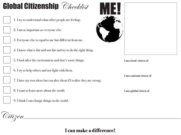 Global-Citizenship-Checklist