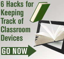 Keep track of classroom devices