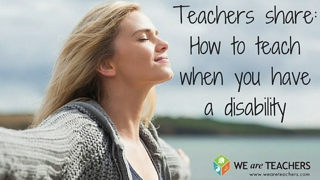 How to teach when you have a disability