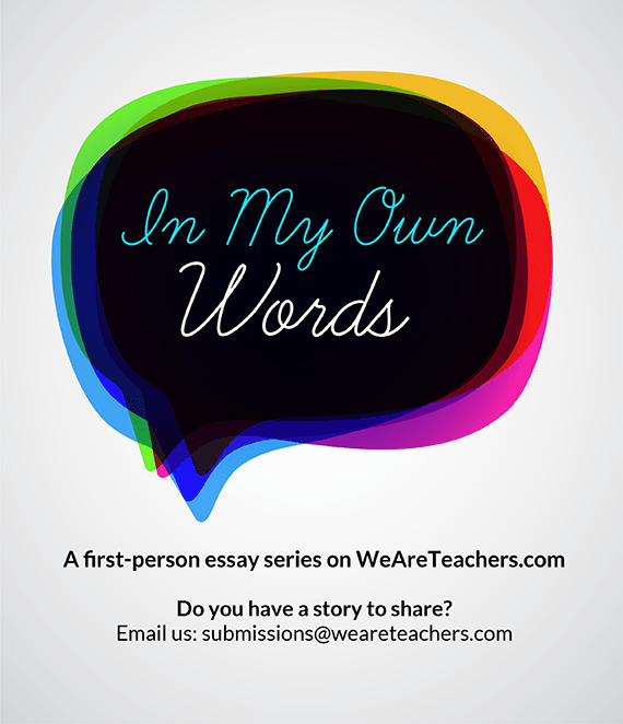 In my own words-blog image
