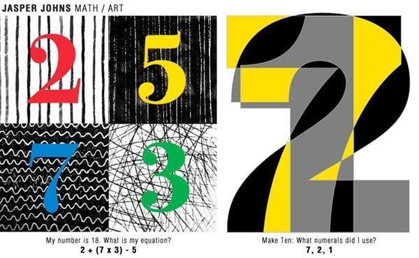 Jasper Johns Math