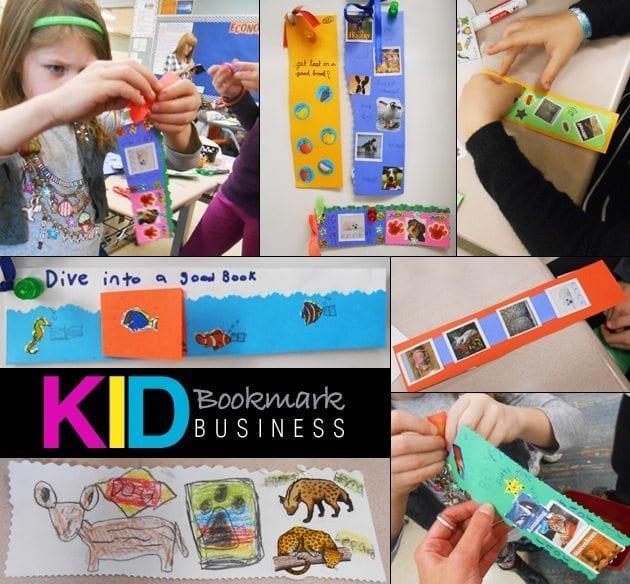 Kid-Bookmark-Business