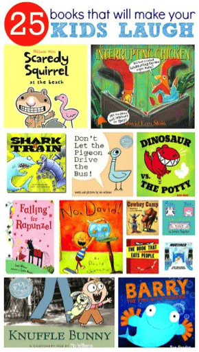 Books to use humor with kids